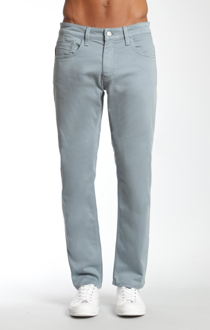 ZACH STRAIGHT LEG IN SMOKE BLUE TWILL