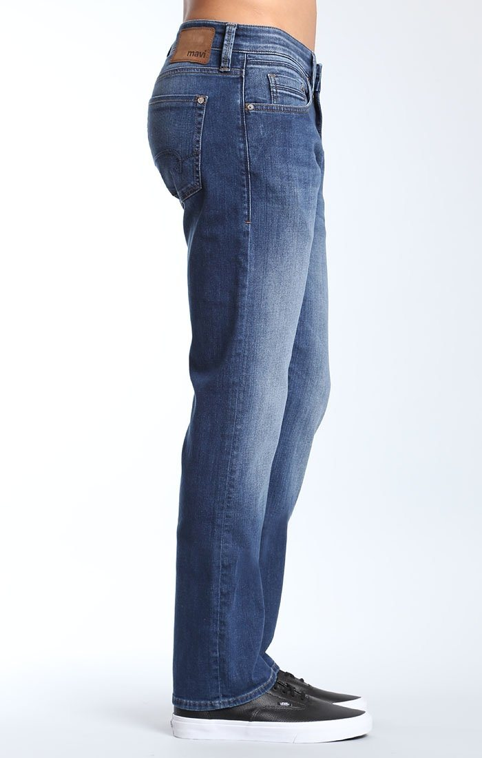 ZACH STRAIGHT LEG IN INDIGO USED WILLIAMSBURG - Mavi Jeans