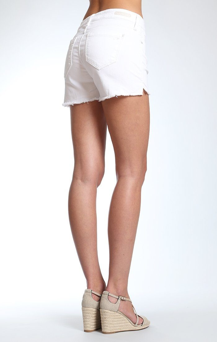 EMILY SHORTS IN SUMMER WHITE BOHO - Mavi Jeans