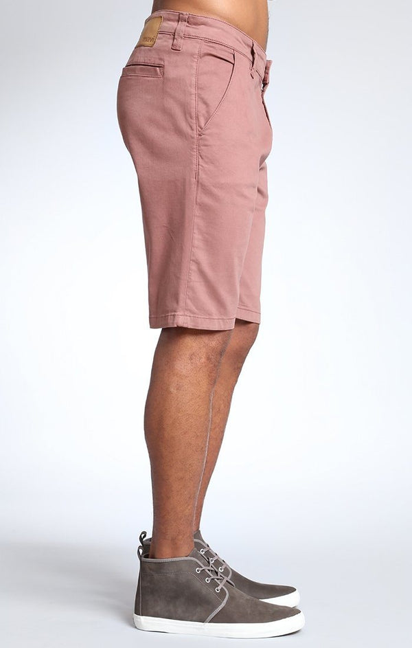 JACOB SHORTS IN BRICK TWILL - Mavi Jeans