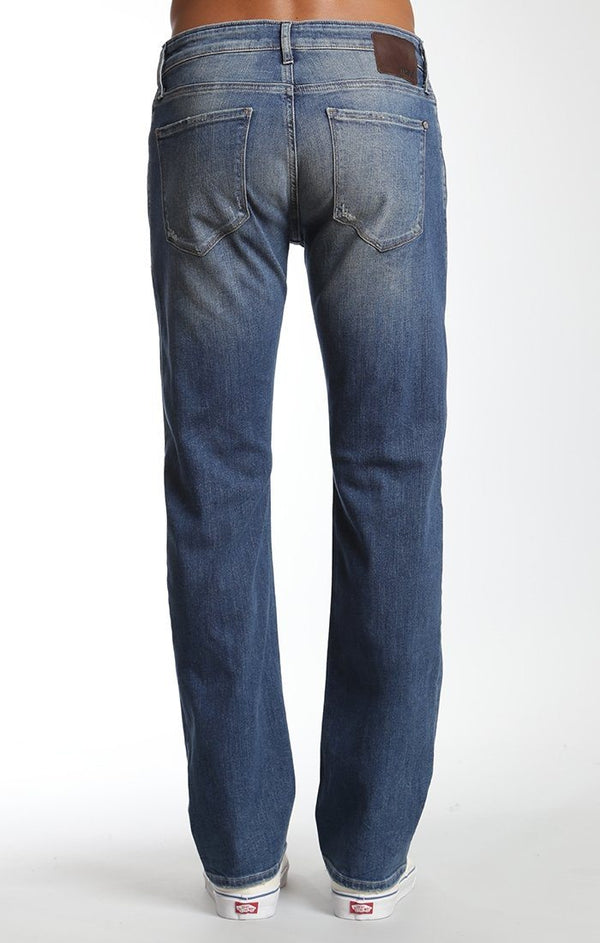 ZACH STRAIGHT LEG IN MID USED AUTHENTIC VINTAGE - Mavi Jeans
