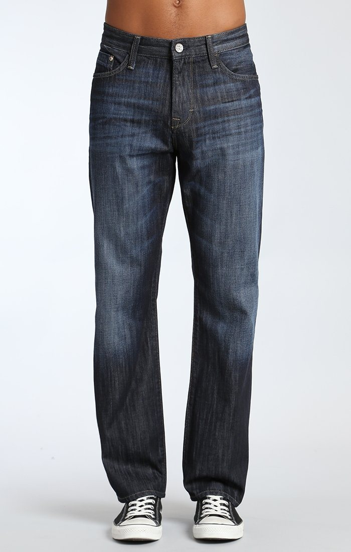 MATT RELAXED STRAIGHT LEG IN RINSE WALDORF - Mavi Jeans