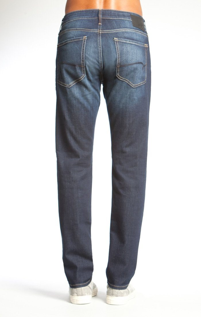 JAKE SLIM LEG IN DEEP BRUSHED BELTOWN - Mavi Jeans