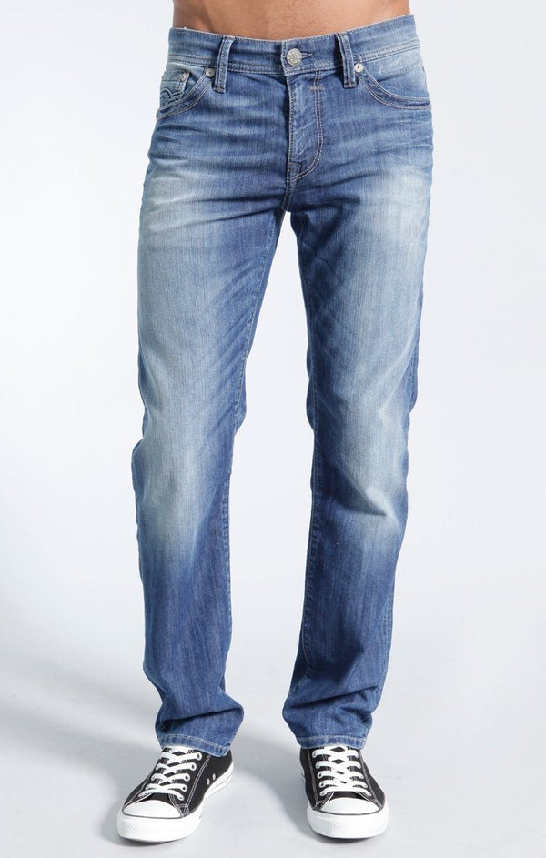 ZACH STRAIGHT LEG IN LIGHT UTAH - Mavi Jeans