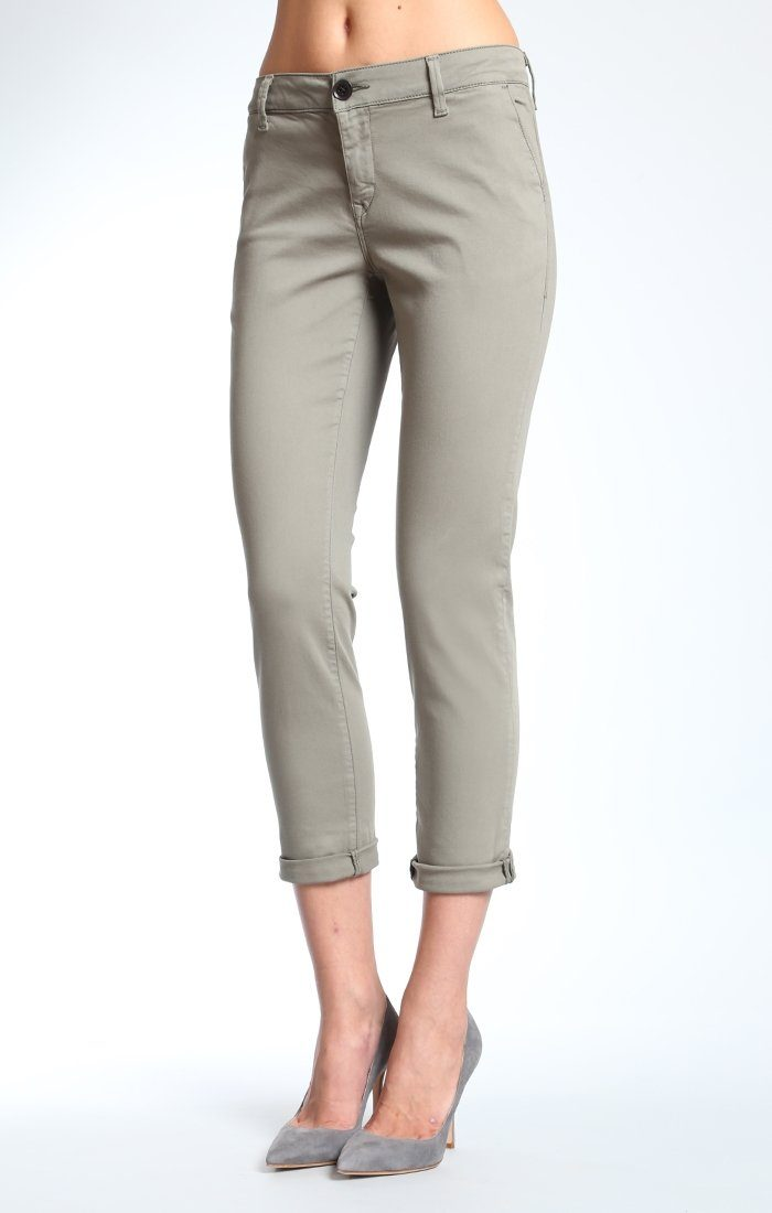SELINA CHINO IN MILITARY TWILL - Mavi Jeans