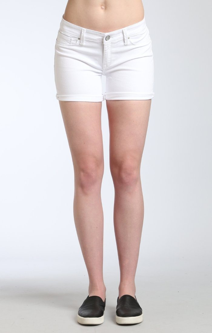 VANNA SHORTS IN WHITE TRIBECA - Mavi Jeans