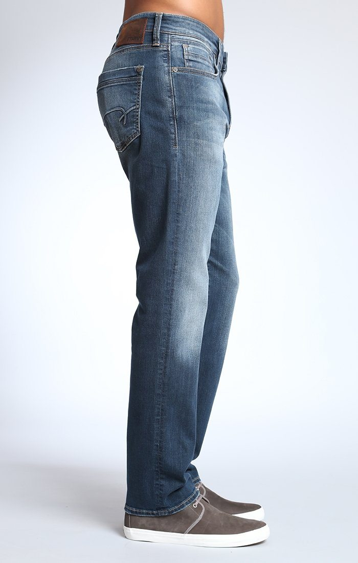 MYLES STRAIGHT LEG IN DARK DEEP YALETOWN - Mavi Jeans