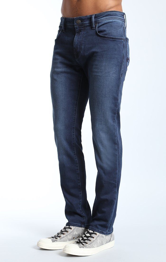 ZACH JOGGER IN INDIGO COATED SPORTY - Mavi Jeans