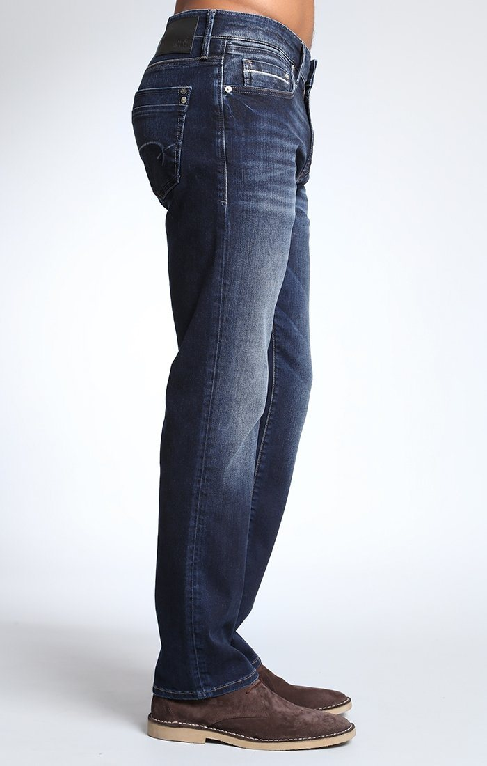 ZACH STRAIGHT LEG IN I-CORE WHITE-EDGE - Mavi Jeans