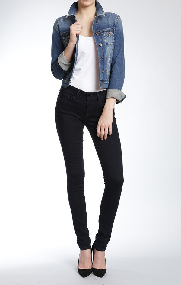 SAMANTHA JACKET IN SHADED RIPPED VINTAGE - Mavi Jeans
