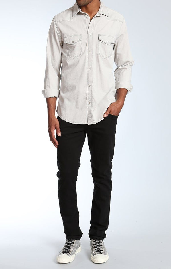 ANDY ICE GREY SHIRTING - Mavi Jeans