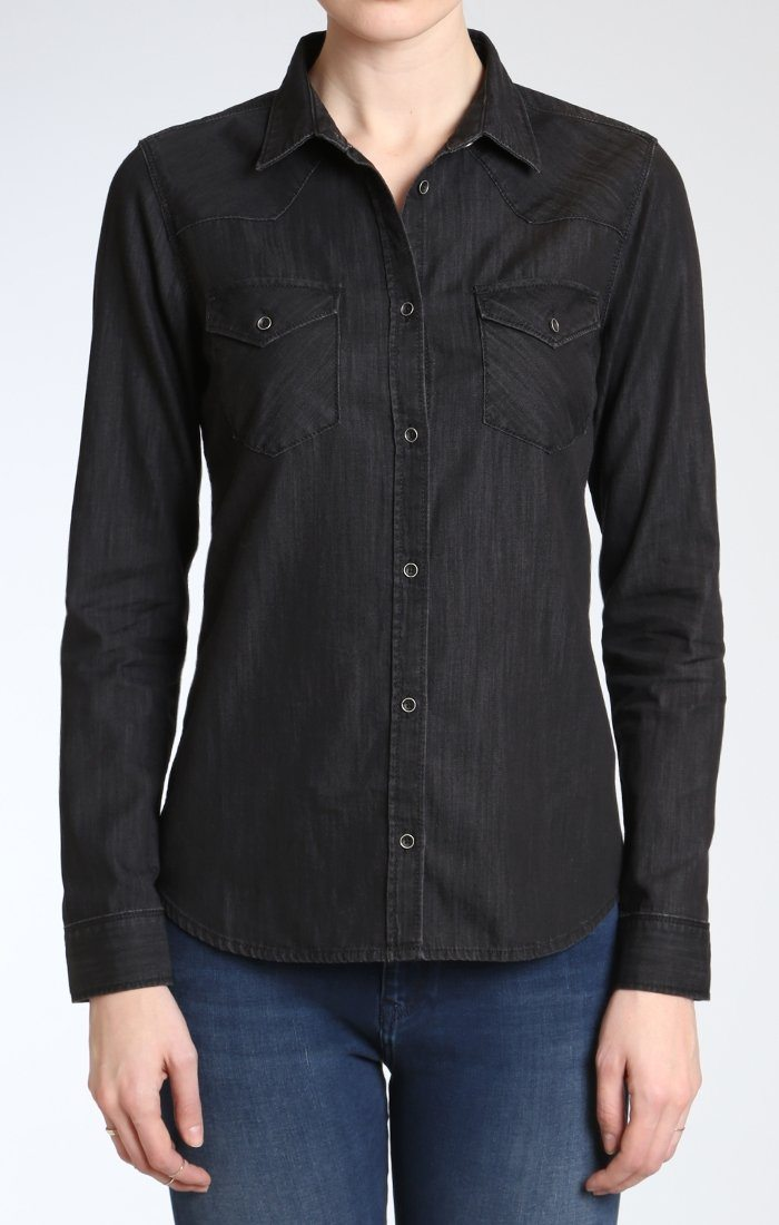 ISABEL SHIRT IN BLACK USED
