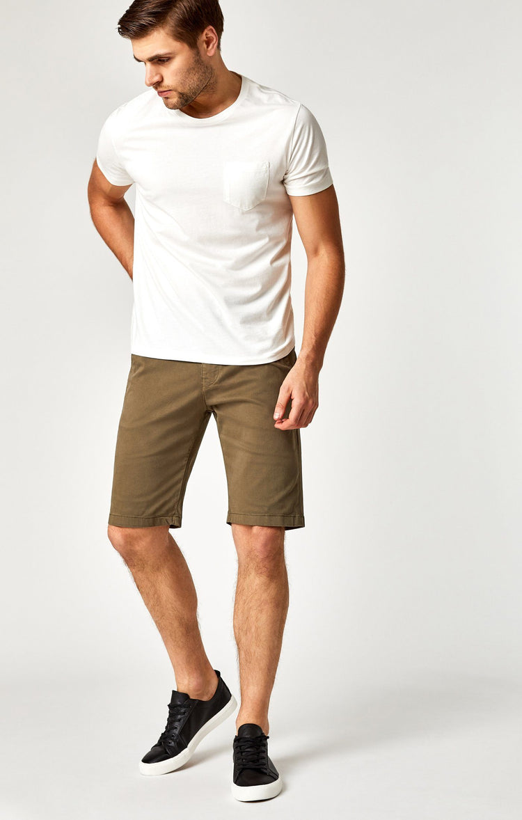 JACOB SHORTS IN SAGE TWILL
