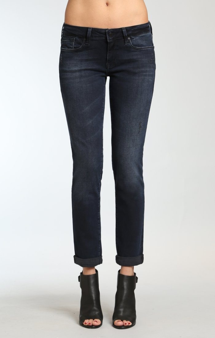 EMMA SLIM BOYFRIEND IN INK USED TRIBECA - Mavi Jeans