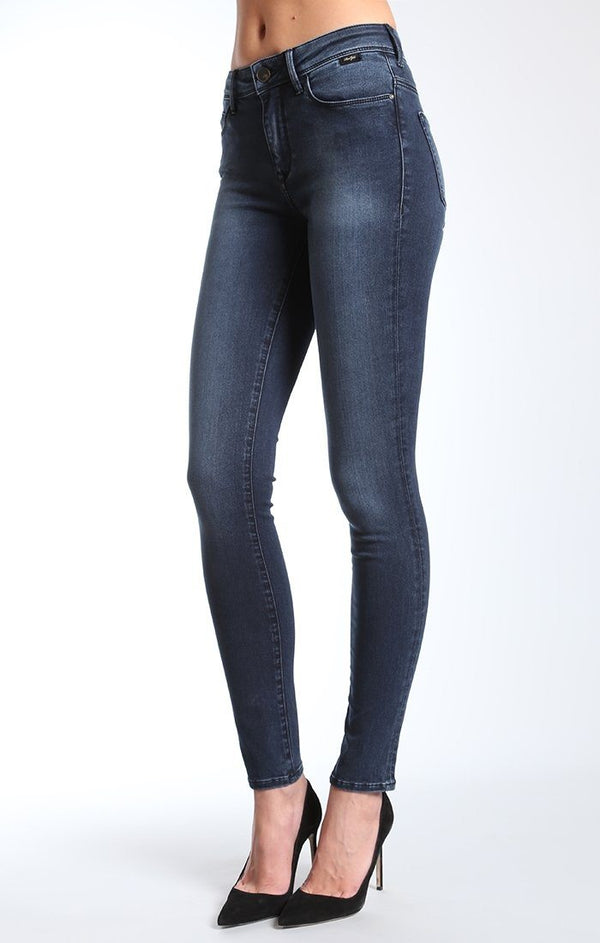 ALISSA SUPER SKINNY IN FOGGY SOFT GOLD - Mavi Jeans