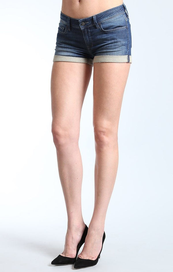 EMILY SHORTS IN RANDOM USED SPORTY - Mavi Jeans