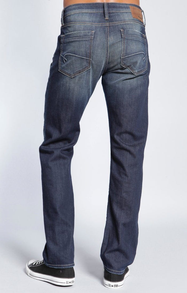 ZACH STRAIGHT LEG IN DARK SHADED YALETOWN - Mavi Jeans