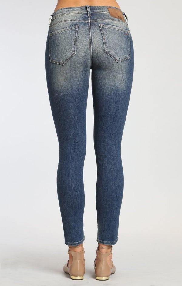 ADRIANA ANKLE SUPER SKINNY IN MID SHADED GLAM VINTAGE - Mavi Jeans