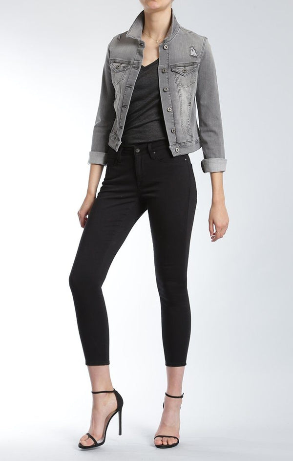 SAMANTHA JACKET IN GREY VINTAGE - Mavi Jeans