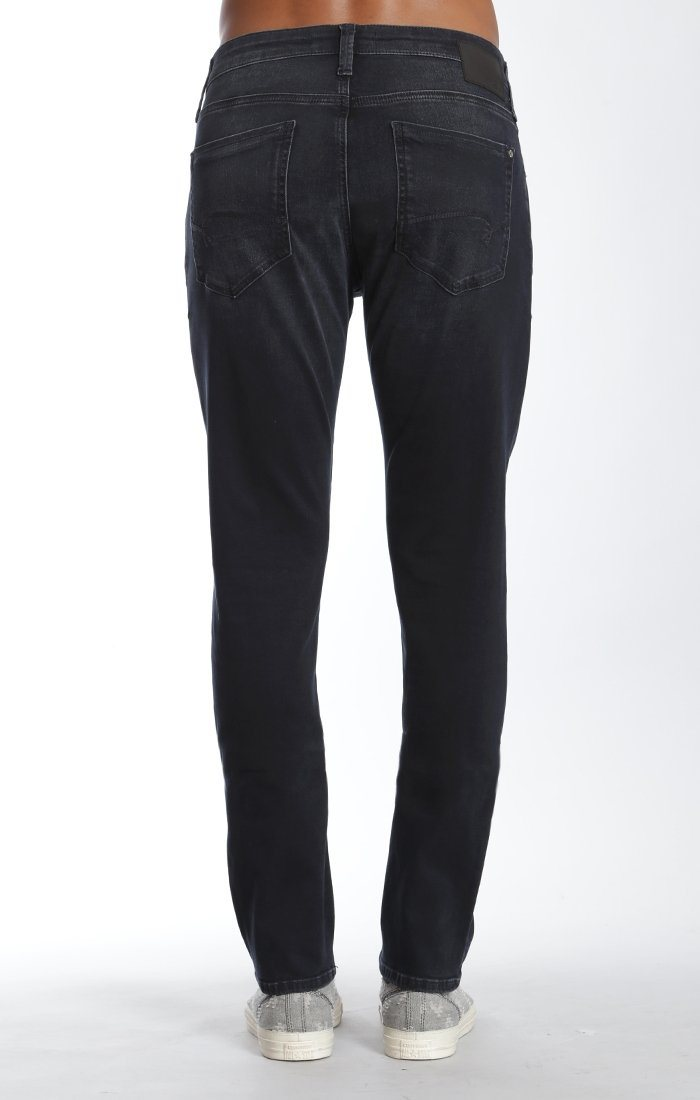 ZACH STRAIGHT LEG IN INK BRUSHED WILLIAMSBURG - Mavi Jeans