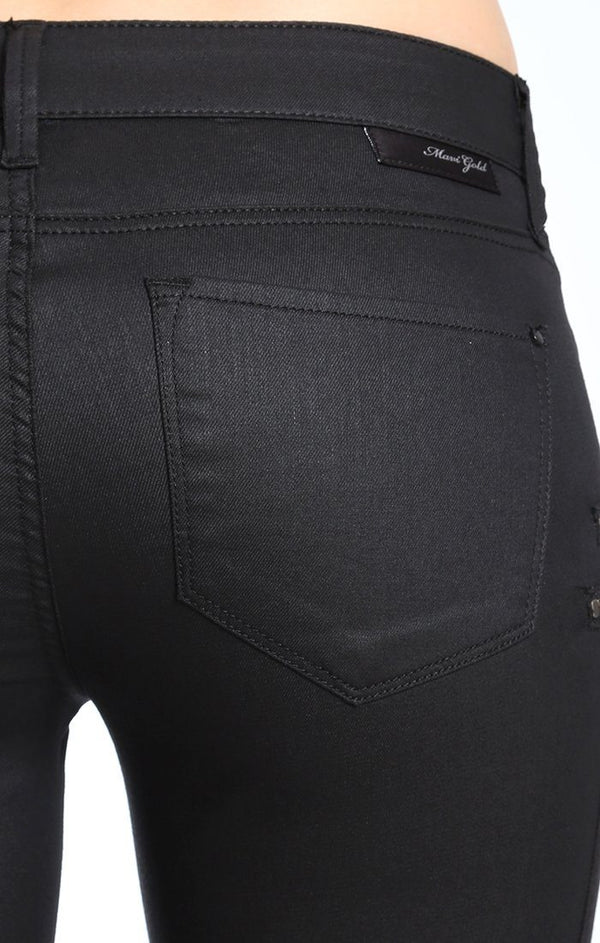 LORA ZIP  SKINNY IN BLOCKING SPECTRA JEATHER - Mavi Jeans