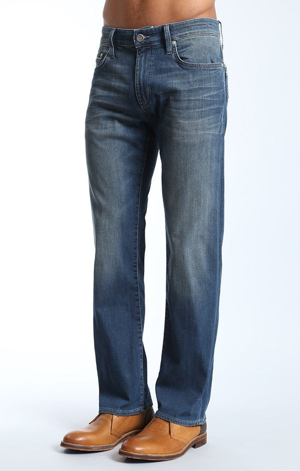 ZACH STRAIGHT LEG IN SHADED WHITE EDGE - Mavi Jeans