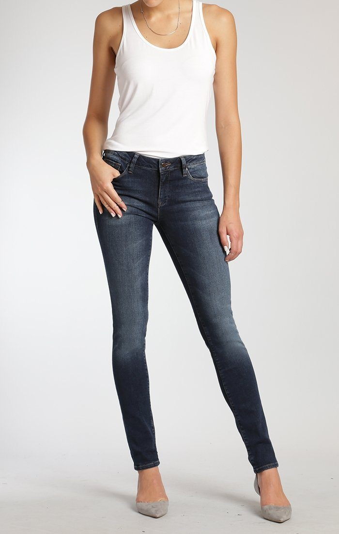 ADRIANA SUPER SKINNY IN DEEP SUPER - Mavi Jeans
