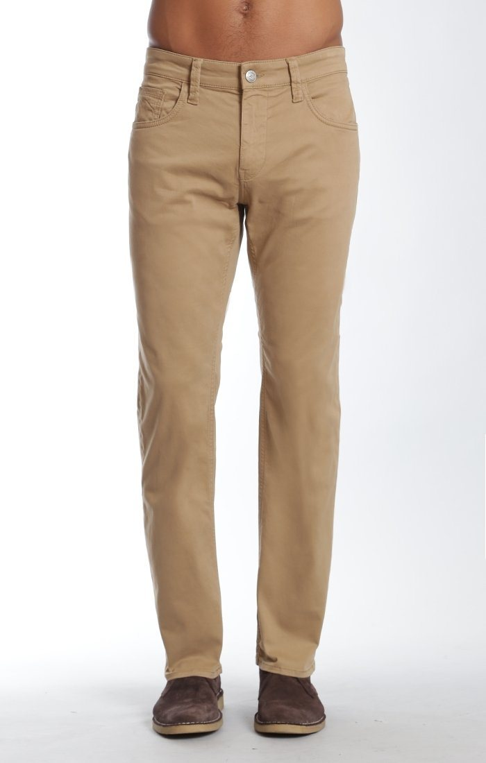 MYLES STRAIGHT LEG IN BRITISH KHAKI TWILL