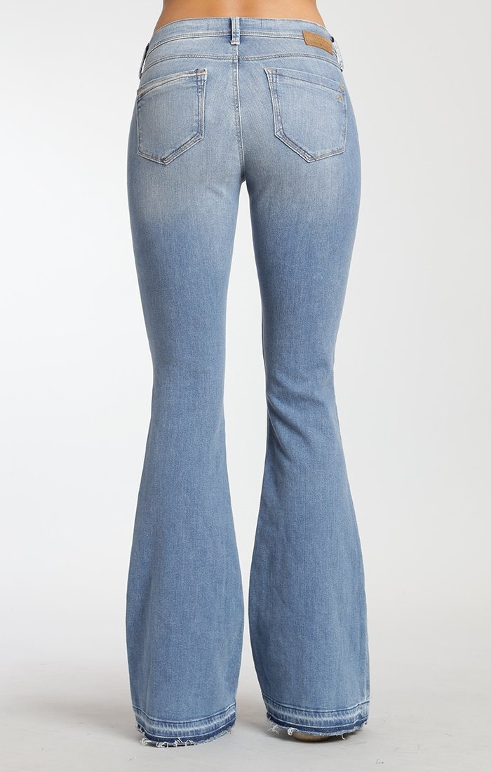 PEACE FLARE IN LIGHT RIPPED - Mavi Jeans