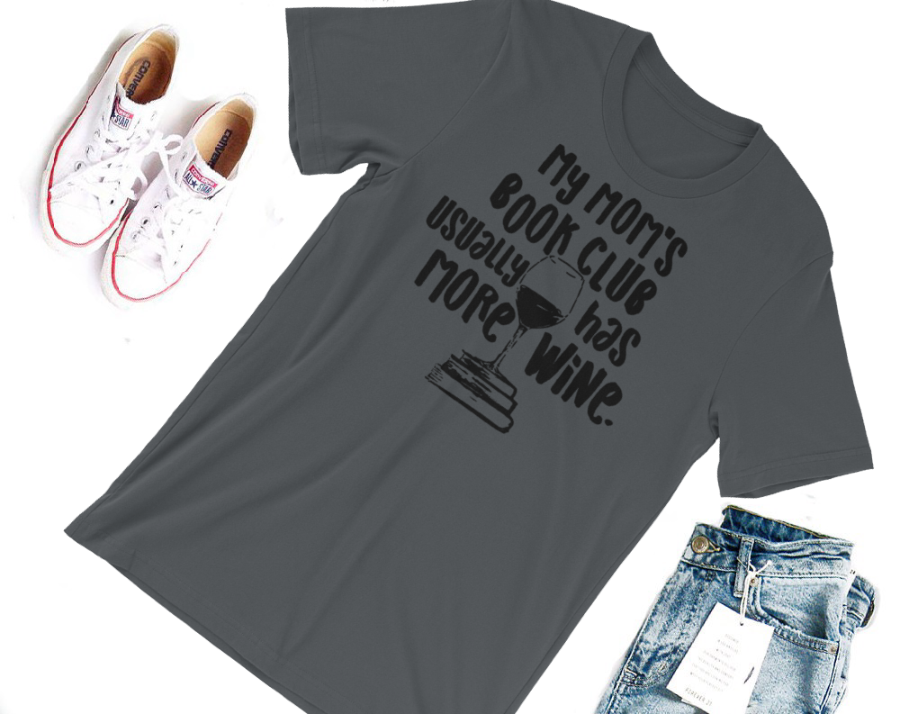 Mom's Book Club Shirt- Teen Wolf