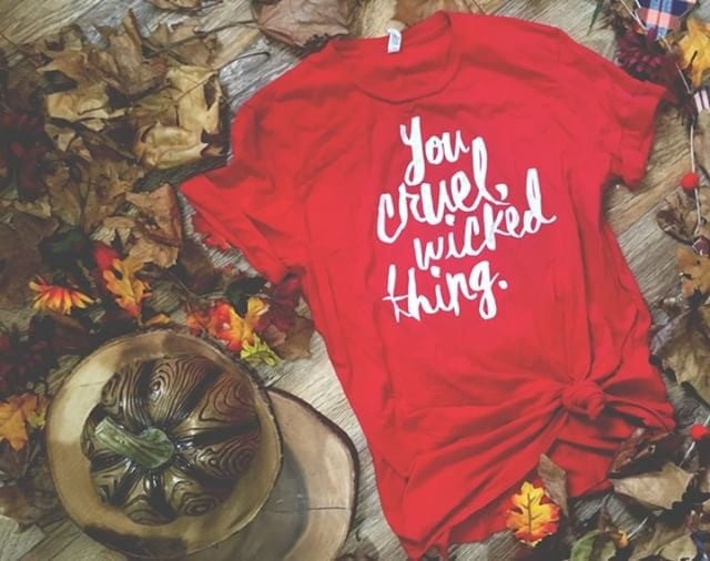 You Cruel, Wicked Thing Shirt--  A Court of Mist and Fury
