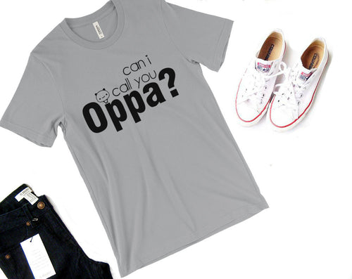Can I Call You Oppa Short Sleeve Shirt