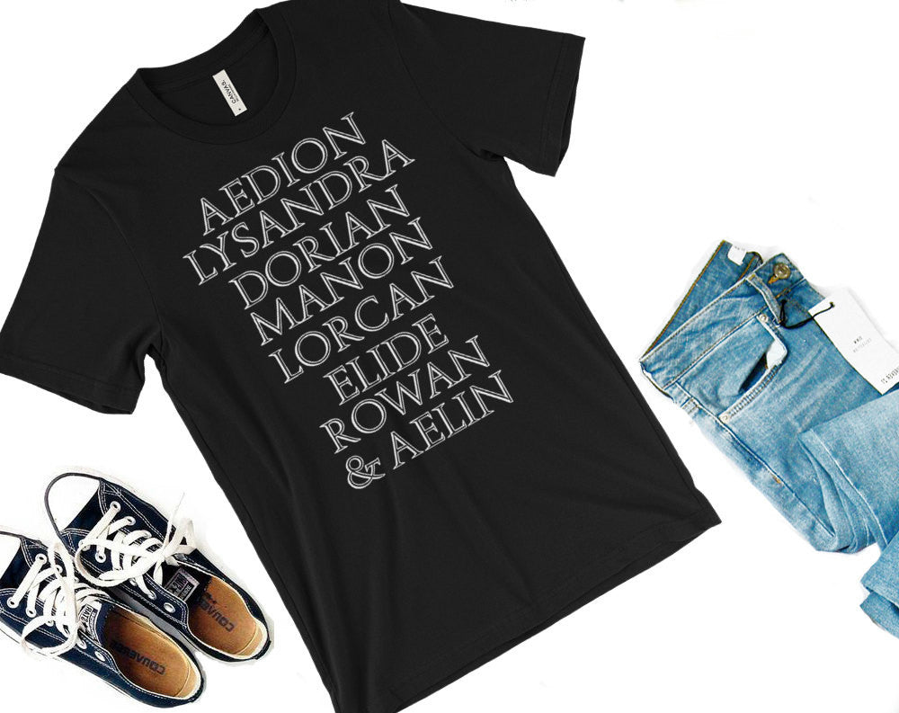Aelin's Squad Shirt-- Throne of Glass