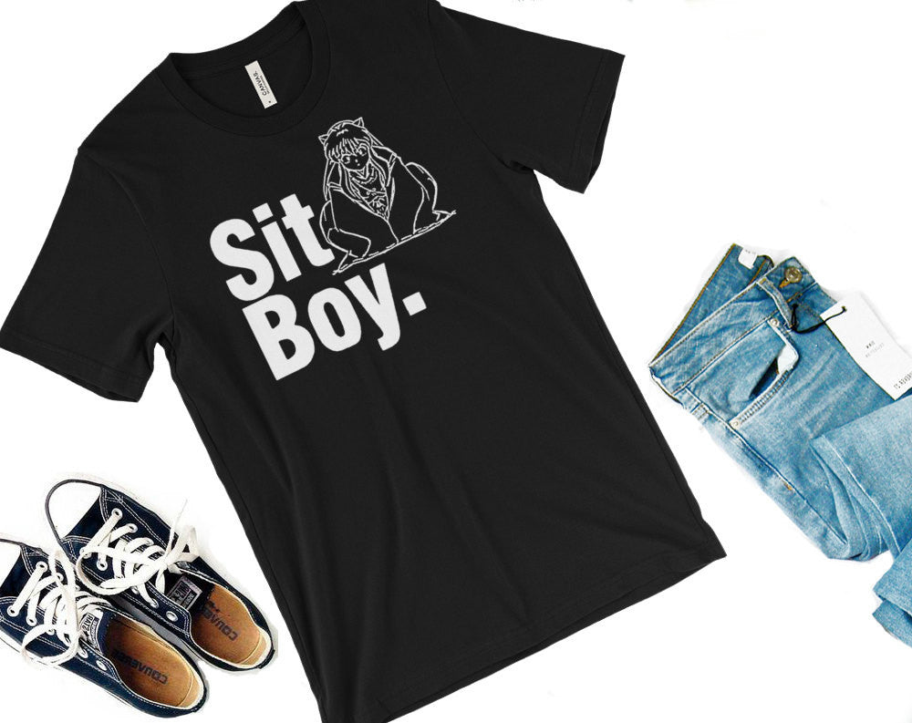 Sit Boy Shirt -- Inuyasha