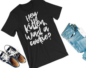 Hey Kitten Luxen Shirt-- Lux