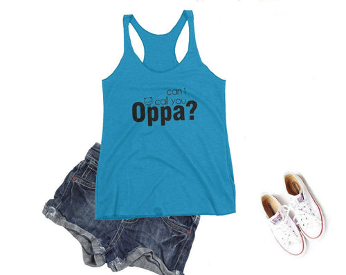 Can I Call You Oppa Tank Top