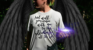 On This Adventure Shirt-- A Court of Wings and Ruin