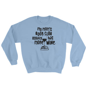 Mom's Book Club Sweatshirt- Teen Wolf