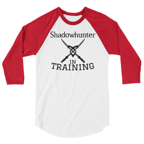 Shadowhunter in Training Raglan-- Mortal Instruments