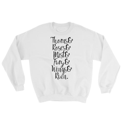 Thorns, Roses, & More Sweatshirt- A Court of Thorns and Roses