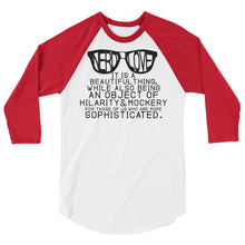 Nerd Love Raglan-- Mortal Instruments