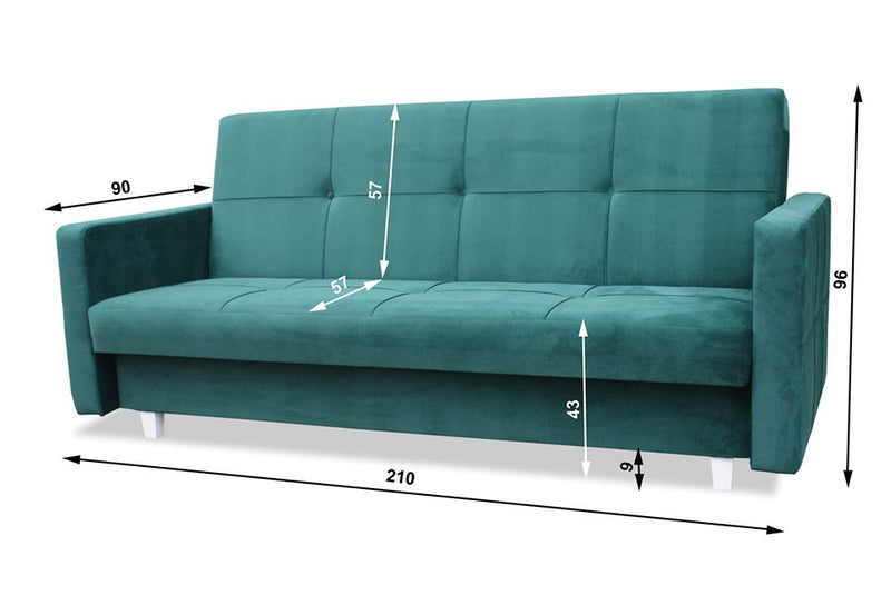 SOFA BED CONNECT GREY, SOFA BEDS, BOSTON, Anna Furniture  - Anna Furniture