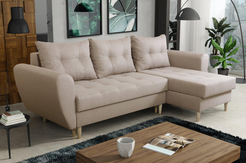 CORNER SOFA BED PALMO 240cm universal - Anna Furniture