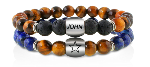 Mens bracelets tiger eye