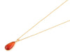 Carnelian chain necklace
