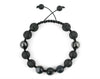 Black Men's macrame bracelet