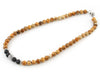 Men's jasper custom necklace
