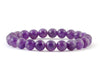 Natural amethyst women's bracelet