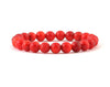Natural red coral bracelet for young wife
