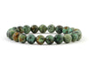 Natural turquoise men's bracelet